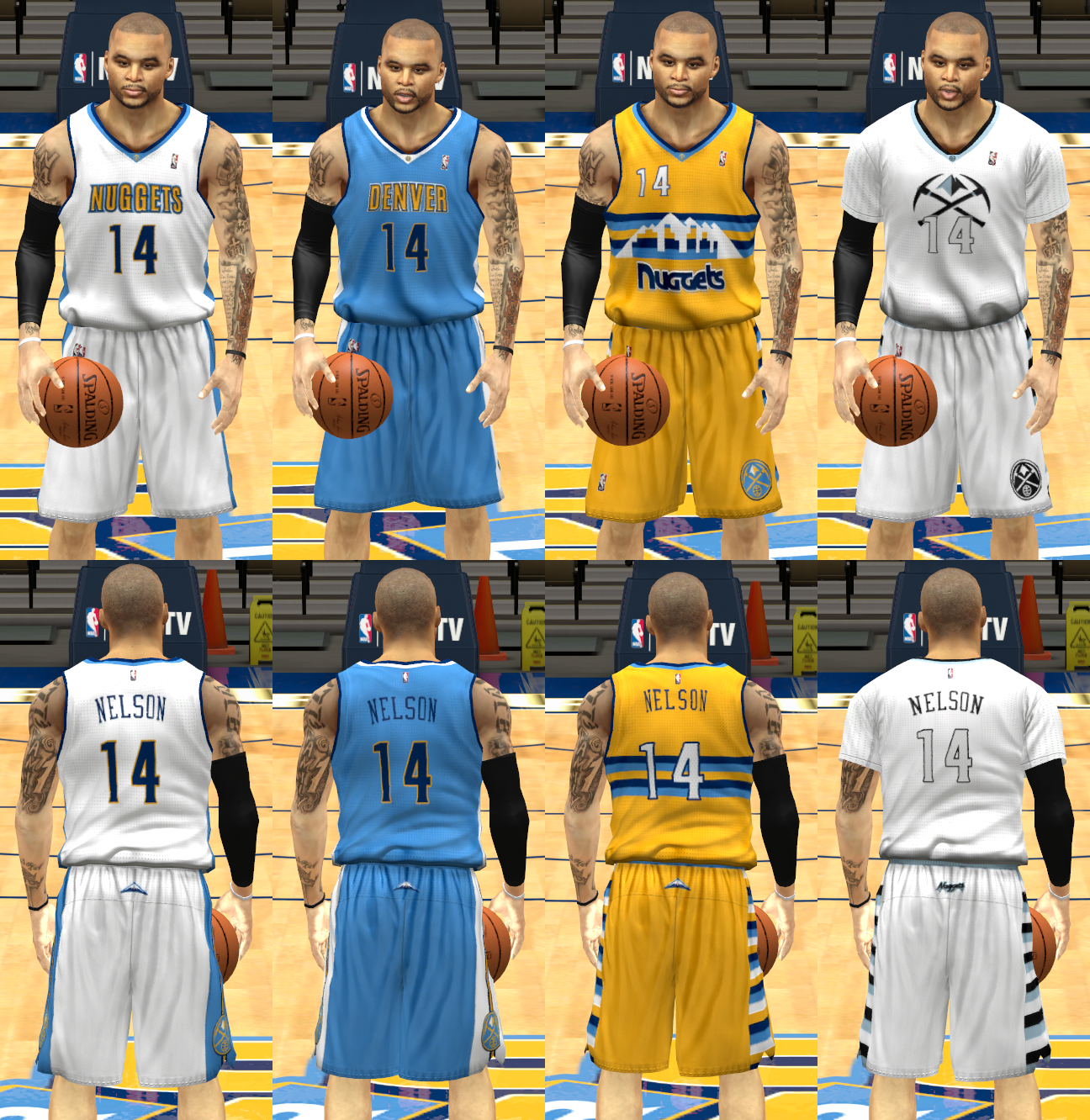 Denver Nuggets Uniforms: 2016 Denver Nuggets Uniforms