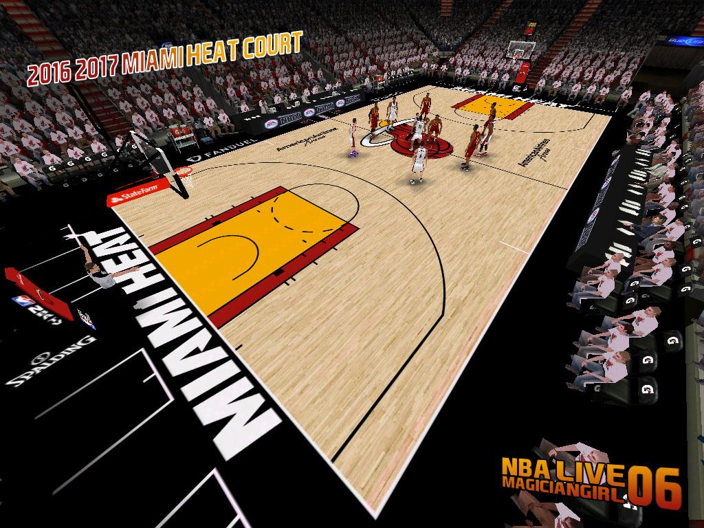 NLSC Forum • Downloads - 2016/2017 Miami Heat Court