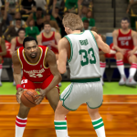Moses Malone and Larry Bird in the Ultimate Base Roster for NBA 2K14