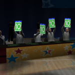 Tens in the Dunk Contest (NBA Live 2005)