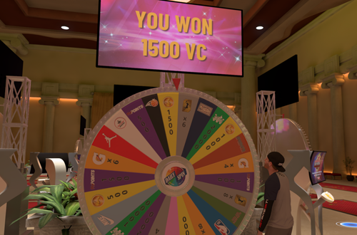 Winning 1500 VC on the Prize Wheel (NBA 2K19 MyCAREER)