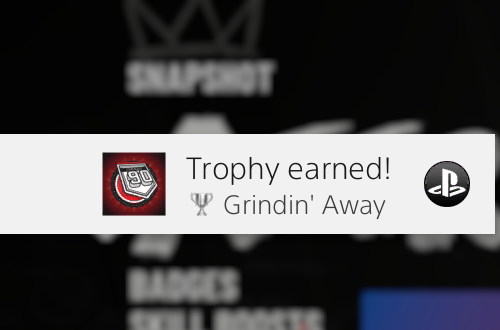 Trophy for reaching 90 Overall in MyCAREER (NBA 2K19)