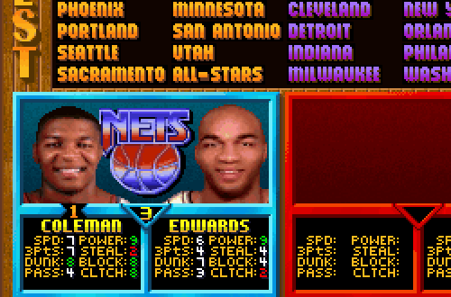 Kevin Edwards Mistake in NBA Jam TE PC