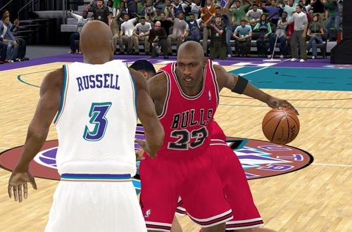The Last Dance in NBA 2K11