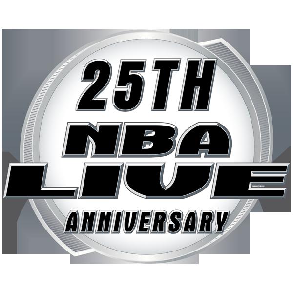 25th Anniversary of NBA Live Logo