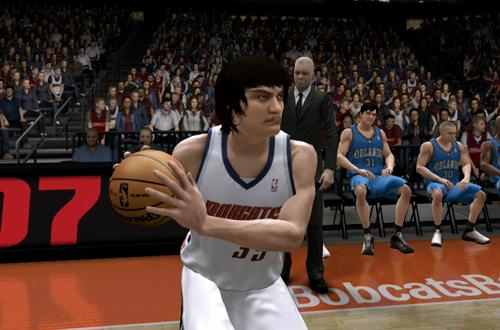 Adam Morrison in NBA Live 07