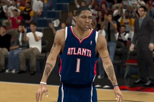 Tracy McGrady on the Hawks in NBA 2K12