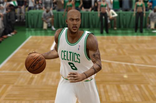 Familiar Faces in Strange Places: Stephon Marbury on the Celtics (NBA 2K9)