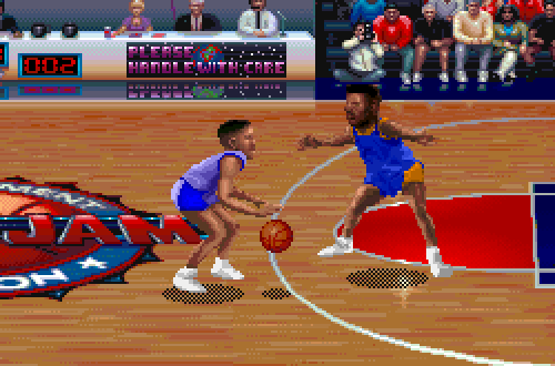 Oliver Miller in NBA Jam Tournament Edition PC