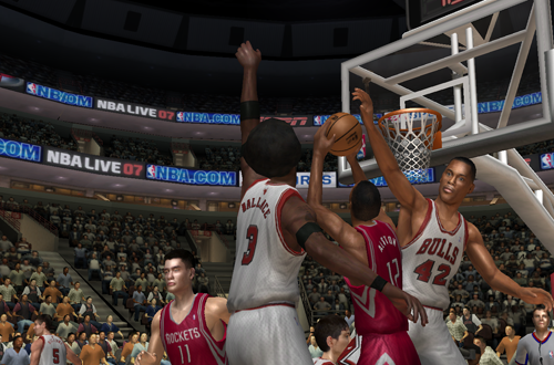 Ben Wallace on the Bulls in NBA Live 07
