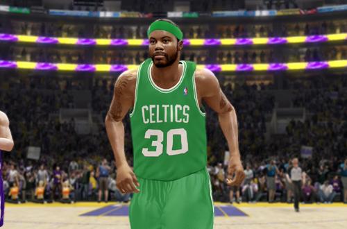 Rasheed Wallace on the Celtics in NBA Live 10