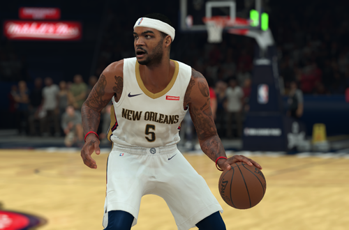 Familiar Faces in Strange Places: Josh Smith in New Orleans (NBA 2K18)