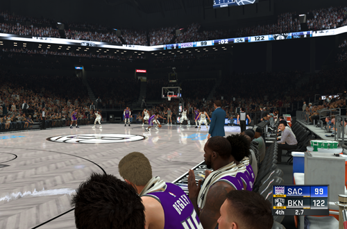 Final Seconds in a MyCAREER Game (NBA 2K20)