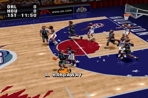 NBA Live 96 on PlayStation 1