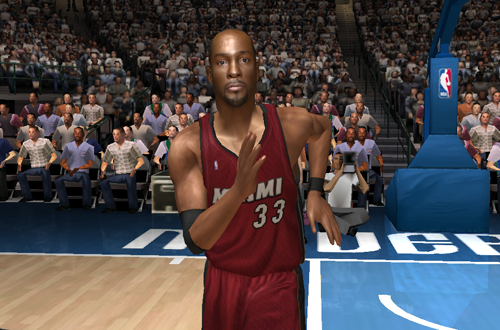 Alonzo Mourning in NBA Live 06