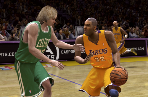 Created Bird vs Created Magic (NBA Live 08)