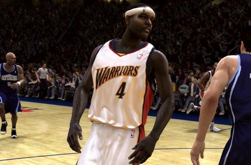 Chris Webber in NBA Live 08