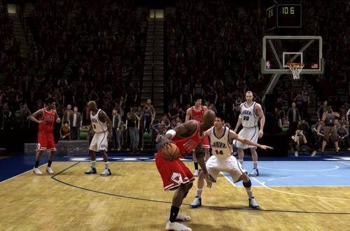 Game 6 of the 1998 NBA Finals in Scenario Mode (NBA Live 08)