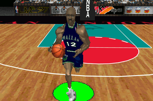 Familiar Faces Back in Familiar Places: Derek Harper, Mavericks (NBA Live 97)