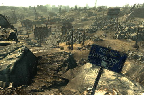 Scenic Overlook in Fallout 3