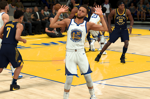 Stephen Curry in NBA 2K21