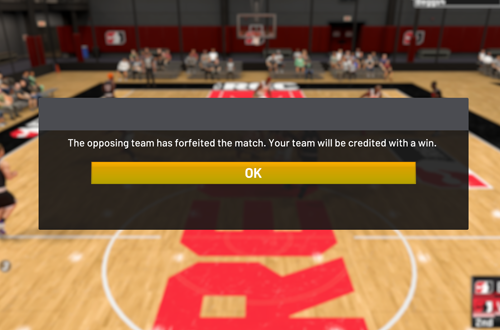 Playing in The Rec (NBA 2K21)