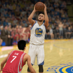 Stephen Curry in NBA 2K14