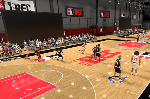 Another Game in The Rec (NBA 2K21)
