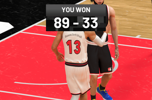 Huge Blowout Win in The Rec (NBA 2K21)