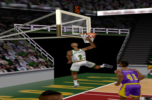 Instant Replay Switching Glitch (Kobe Bryant in NBA Courtside)