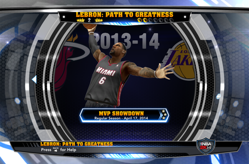 Fantastic Journey in Path to Greatness (NBA 2K14)