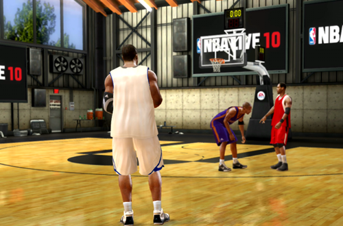 Coincidences in The Hangar (NBA Live 10)