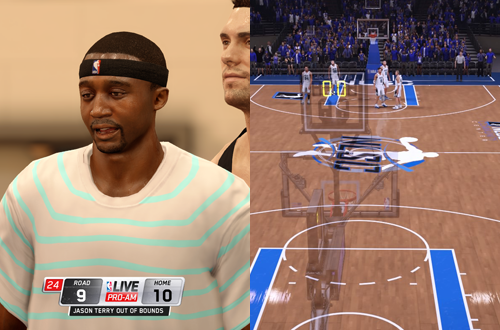 Pro-Am in NBA Live 16 & NBA 2K16