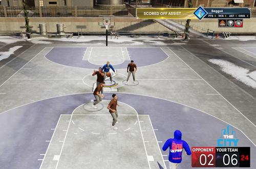 Rookieville Game in NBA 2K21 Next Gen