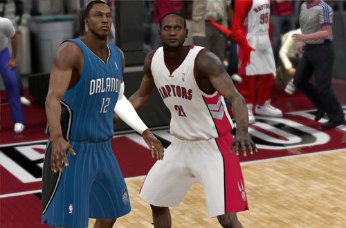 NBL Alum Nathan Jawai in NBA 2K9