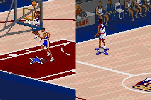 NBA Alumni Darnell Mee & Kevin Brooks in NBA Live 95