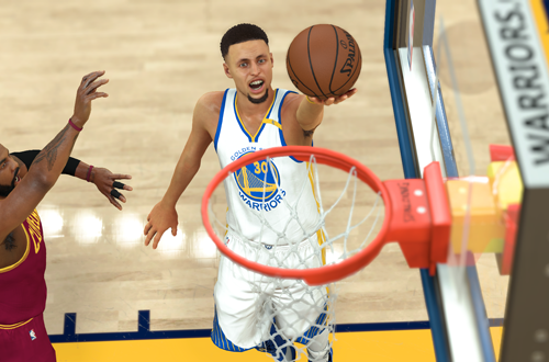 Stephen Curry in NBA 2K17