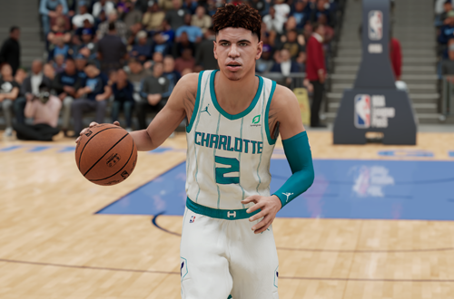 LaMelo Ball in NBA 2K21