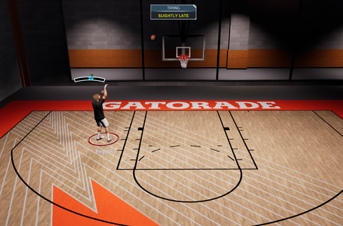 Shot Meter in NBA 2K21 Next Gen