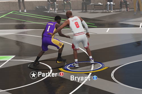 On-Ball Defense in MyTEAM (NBA 2K21)