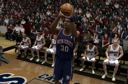 Cliff Robinson in NBA Live 07